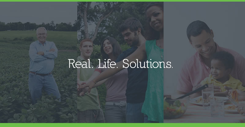 Real. Life. Solutions Banner